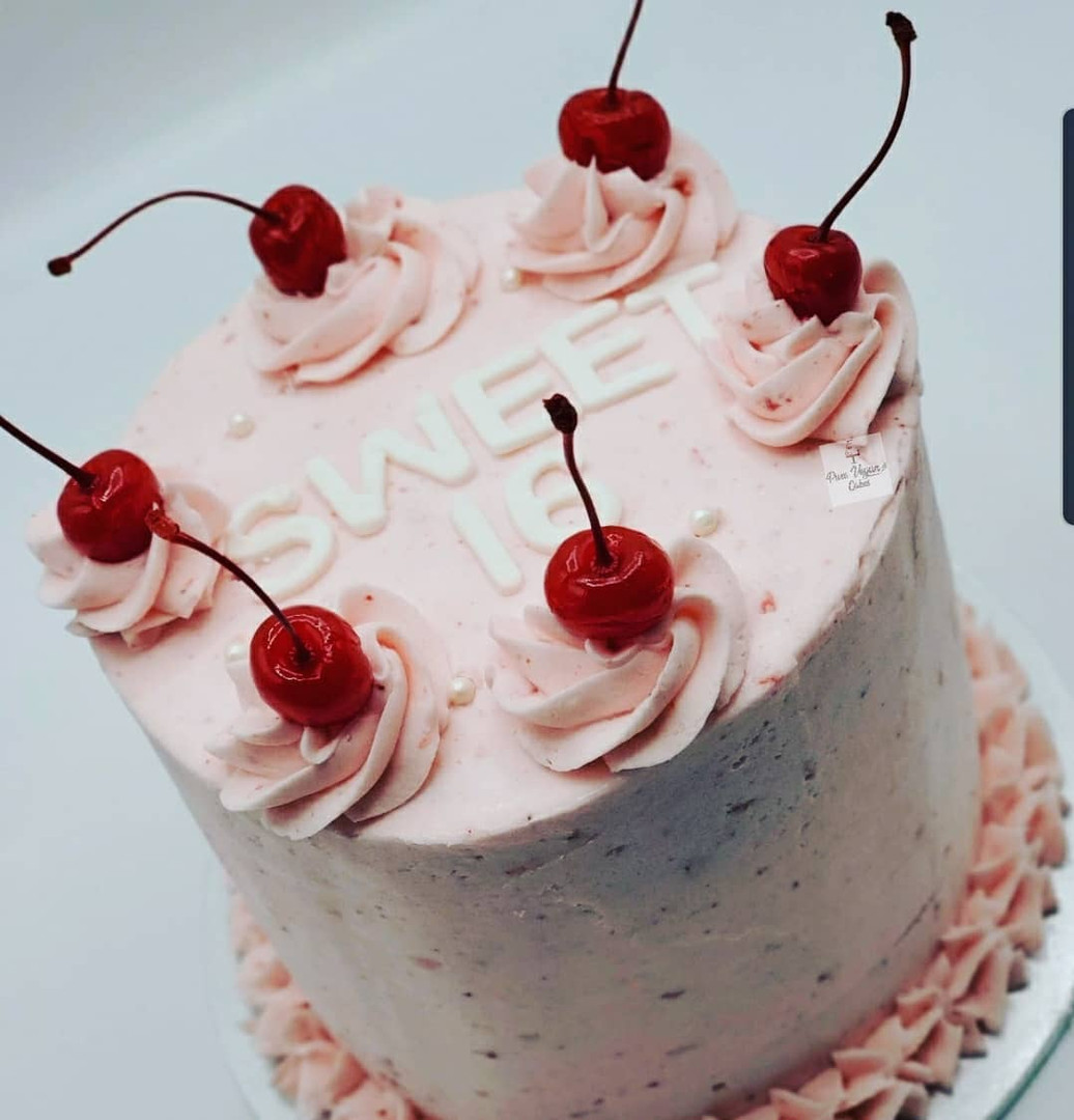 Vegan_Strawberry_Birthday_Cake_Sweet 16_