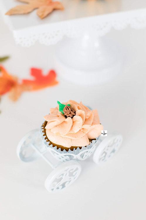 Vegan Pumpkin Spice Cupcake