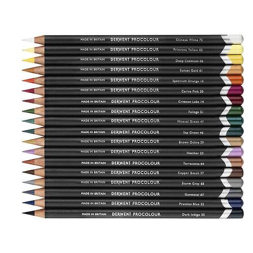 Derwent Procolour 24 colour Pencils set  24色顏色鉛筆套裝