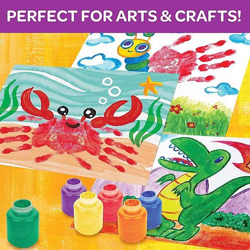 Crayola Washable Kids Paint Set      千色樂可水清洗兒童顏色套裝