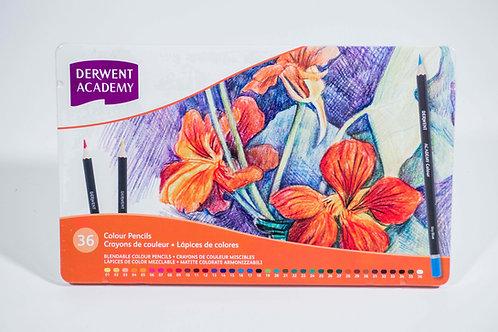 Derwent Academy Colour Pencils set  顏色鉛筆套裝