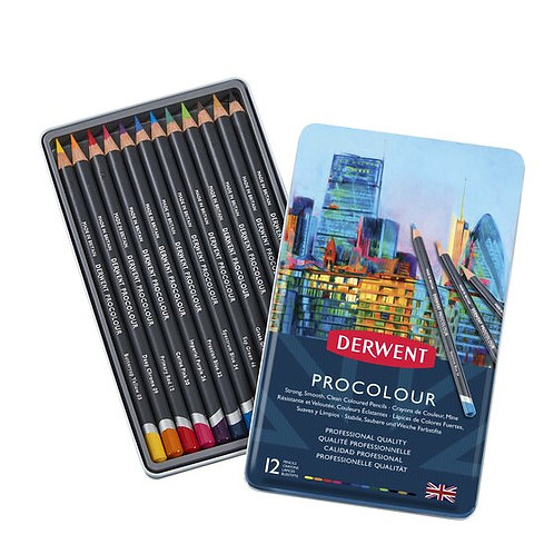 Derwent Procolour Pencils set  顏色鉛筆套裝