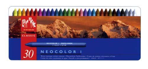 Caran D'ache Neocolor I Wax Crayons Set 專業蠟筆