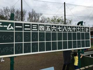 育成会一部(市内)vs ツインズ戦