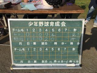 清瀬育成会ジュニア(vs 七小松山)