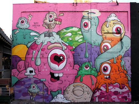 Huge New Mural in Jersey City