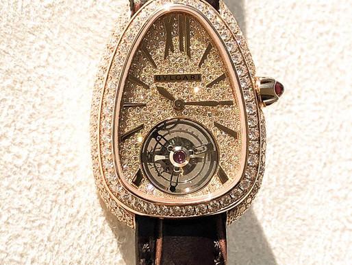 【杜拜直擊】BVLGARI重點新品蛇錶陀飛輪