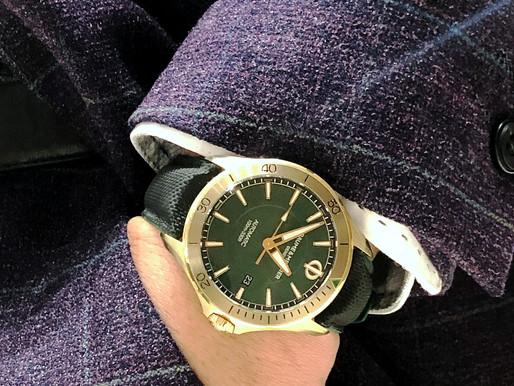 【HANDS ON】 BAUME & MERCIER Clifton Club Bronze青銅錶伴我闖天涯