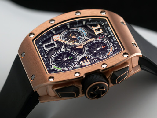 RICHARD MILLE 首款自製機芯計時碼錶