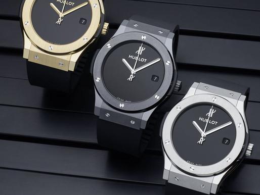 【HUBLOT 40周年慶 重新演繹初代經典腕錶】