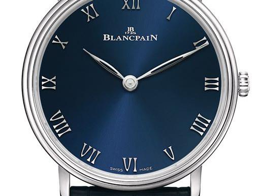 BLANCPAIN 全新「暮藍」Villeret Ultraplate限量版腕錶