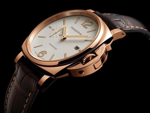 PANERAI全新Luminor Due Goldtech™紅金腕錶
