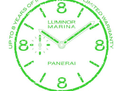 PANERAI推出PAM.GUARD保養計畫,保養期可達8年