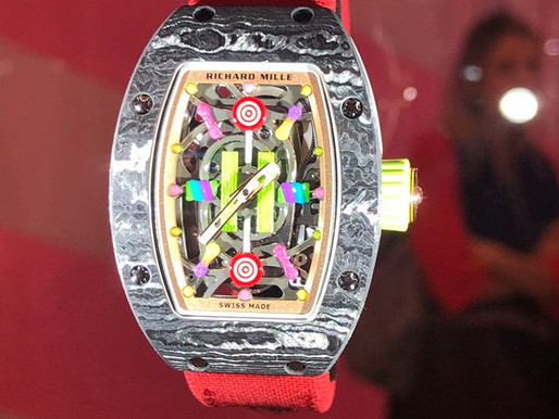 【SIHH2019】RICHARD MILLE 甜蜜如軟糖