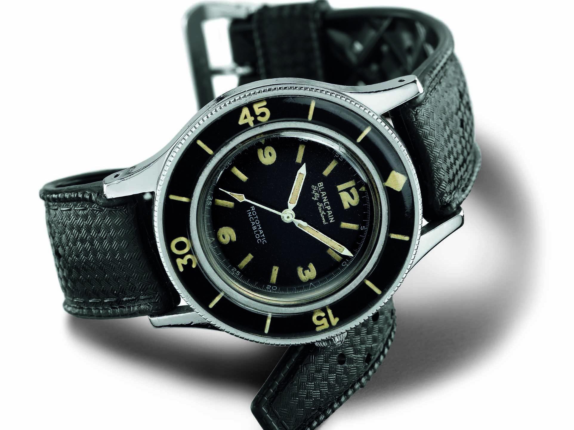 1953 年,首枚開創傳奇的五十噚潛水錶誕生。