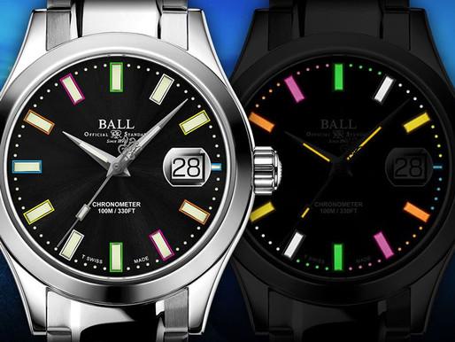 BALL WATCH 「Rainbow」 慈善別注版腕錶