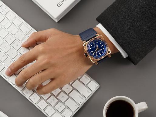 BELL & ROSS 藍寶石王子的青銅錶