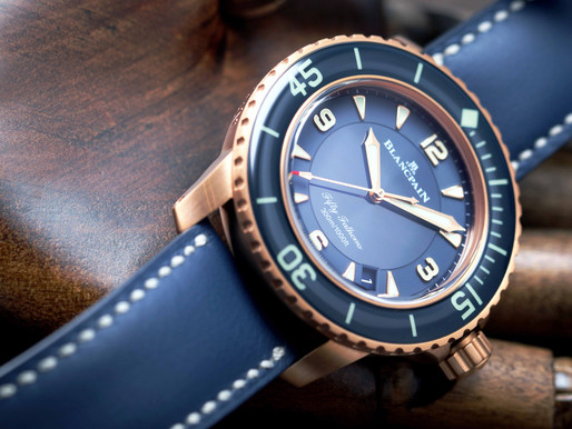 WELCOME TO THE LEGENDARY WORLD OF BLANCPAIN