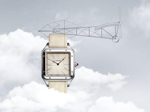 CARTIER Santos Dumont限量版鐫刻腕錶