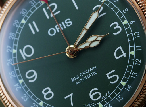 【BASELWORLD 2019】ORIS為手腕添一點綠