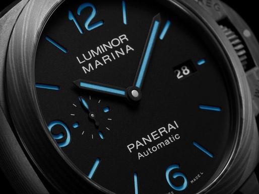 PANERAI全新Luminor Marina Carbotech™碳纖維腕錶