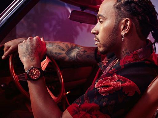IWC聯同六屆F1世界冠軍Lewis Hamilton打造限量版腕錶