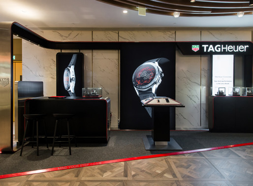 【TAG HEUER Connected Pop Up Store】