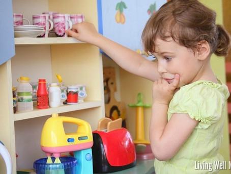 Organização simplificada para o ambiente e tarefas das crianças