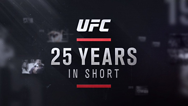 UFC 25 Years in Short