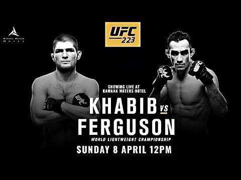 UFC Countdown Ferguson vs Khabib