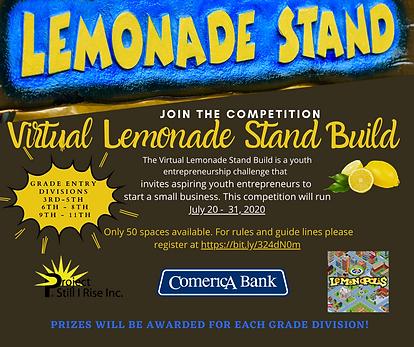 Project Still I Rise Virtual Lemonade St