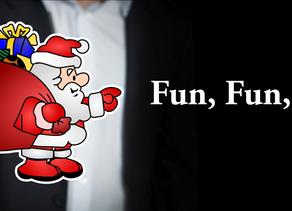 Fiesta de Navidad en la empresa... Fun, Fun, Fun