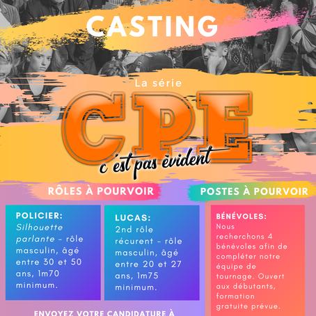 CPE SAISON 2: Le casting ouvert !