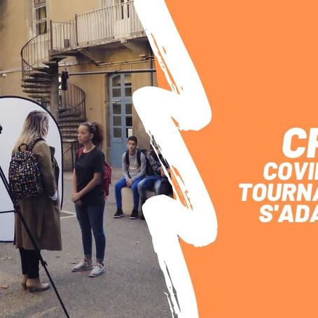 COVID-19: Le tournage de la série «CPE» a dû s'adapter.