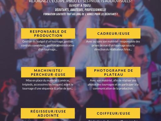 SAISON 2019/2020: JProd recrute !