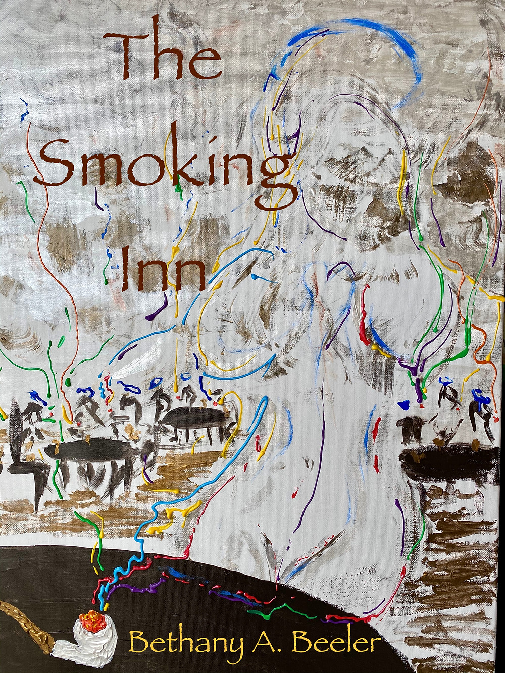 cover of Bethany's upcoming book, The Smoking Inn