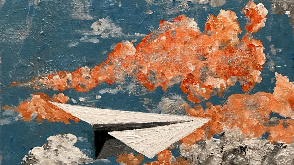 Flight of the Whimsy, The - SOLD