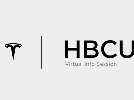 Tesla to Host HBCU Virtal Info Session