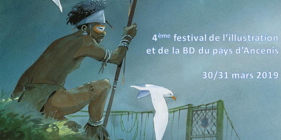 4ème Festival de l'illustration et de la BD du Pays d'Ancenis