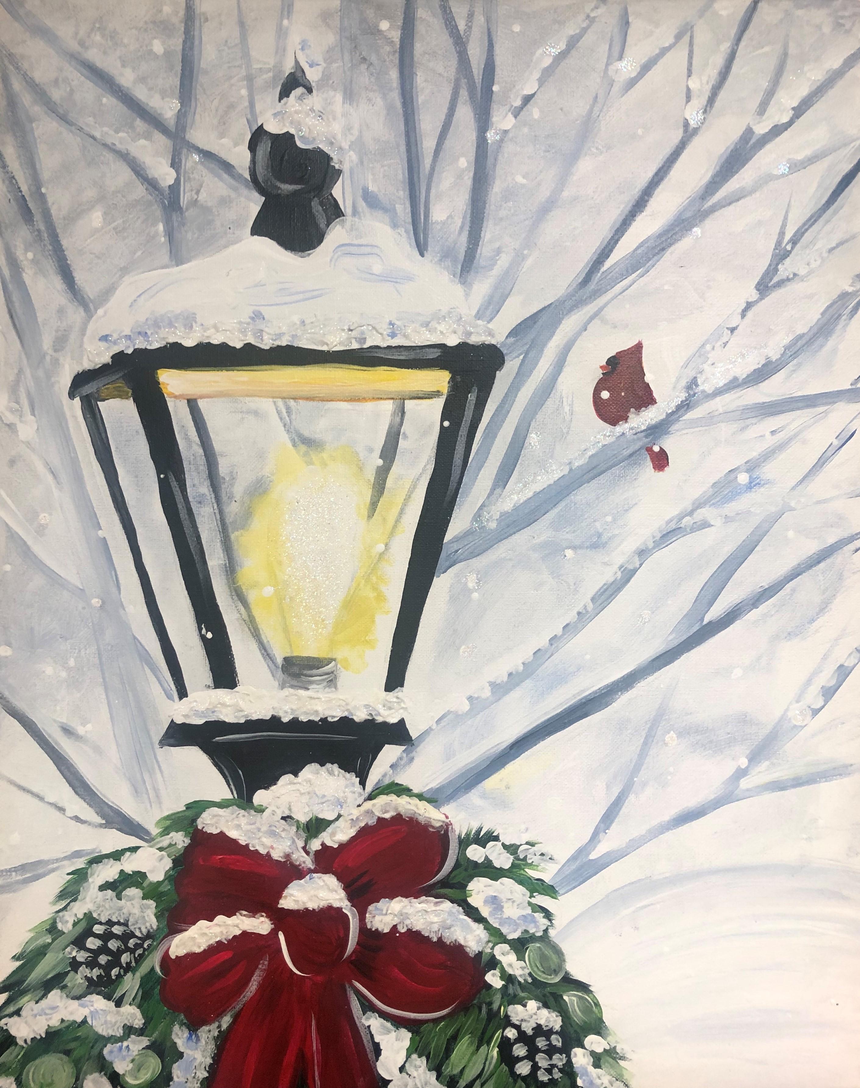 Christmas Lammpost