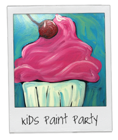 Kid's Paint Party Additional Painters (Age 5-11)