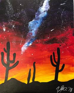 Sunset Cactus