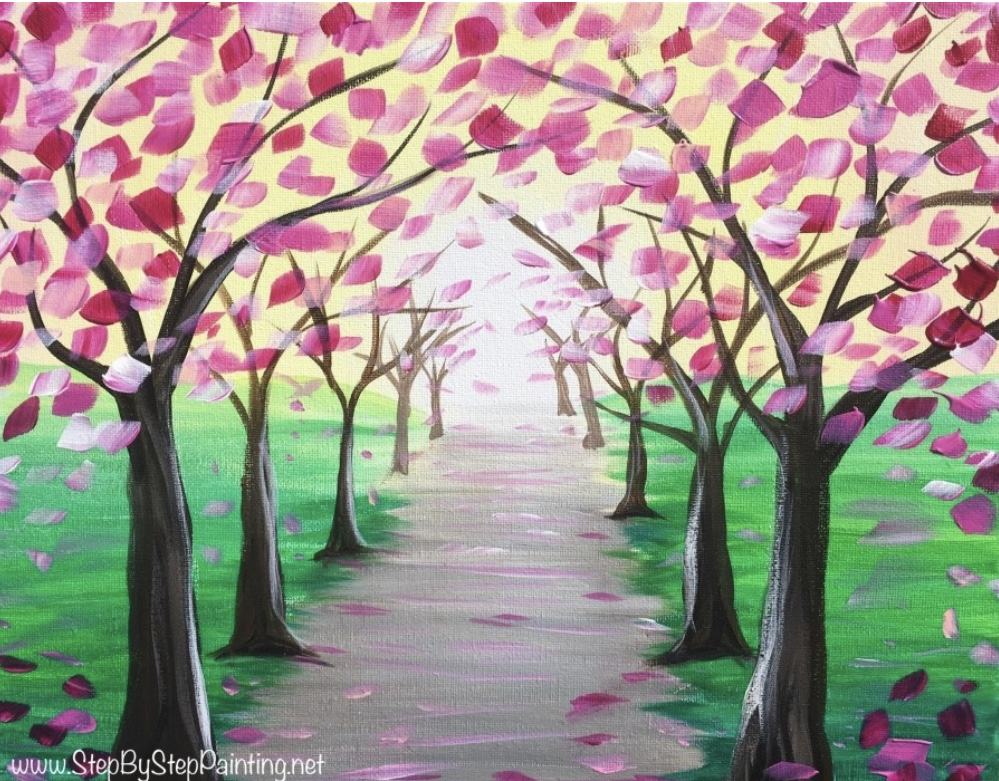 Pathway to Love Trees