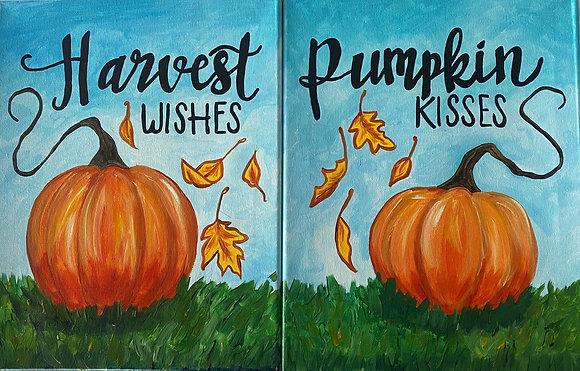 AB-Pumpkin Kisses & Harvest Wishes