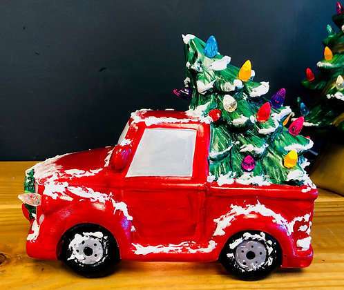 AB-Lighted Truck with Tree