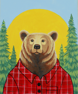 Lumber Jack Bear (2)