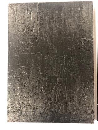 Black Textured Panel