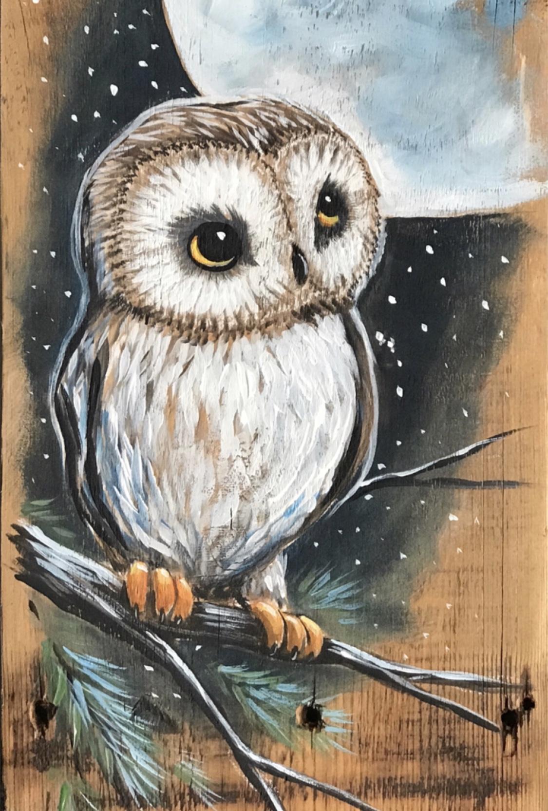 Owl N Moon