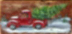 Red Truck (wood)