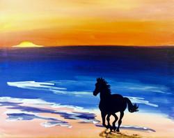 Horse on a Beach.jpg